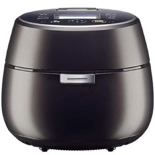 ミツビシ(三菱)の三菱 IHジャー炊飯器 (5.5合炊き)黒銀蒔 本格炭釜 NJ-AW-109-B(炊飯器)