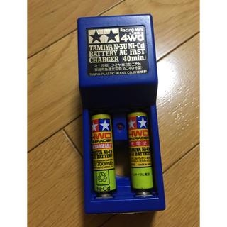 ミニ四駆 TAMIYA 単3ニカド電池2本&家庭用急速充電器セット