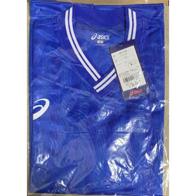 asics(アシックス)の新品アシックス サッカー フットサル ゲームシャツ Mサイズ スポーツ/アウトドアのサッカー/フットサル(ウェア)の商品写真