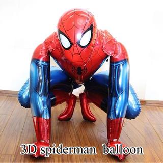 スパイダーマンの3Dバルーン♡誕生日やパーティー、インテリアにも♡送料無料