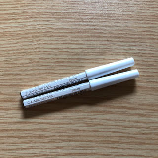 シセイドウ(SHISEIDO (資生堂))の資生堂眉墨鉛筆2番ダークブラウン  アイブロウペンシル未使用未開封 2本セット(アイブロウペンシル)