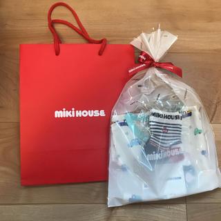 mikihouse - 新品未使用タグ付きミキハウスロンパース80