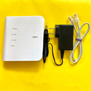 NEC - 【Wi-Fiルーター】NEC Aterm WF1200CR ホームルーター