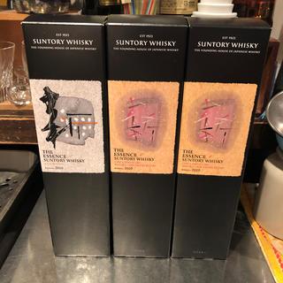 サントリー(サントリー)のTHE ESSENCE OF SANTORY WHISKY 3本セット(ウイスキー)