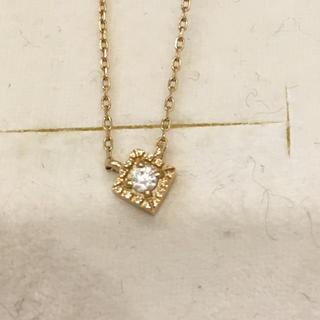 ete - ete   ゴールド K10   ダイヤモンド ネックレス 美品