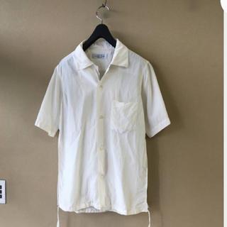 アンユーズド(UNUSED)のUNUSED シルクコットンシャツ サイズ2(シャツ)