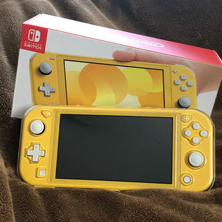 Nintendo Switch - Nintendo Switch  lite イエロー 美品