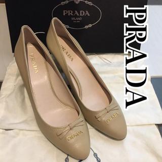PRADA - 新品【プラダ】PRADAパンプス 袋付き正規品&特価!! PRADAヒール