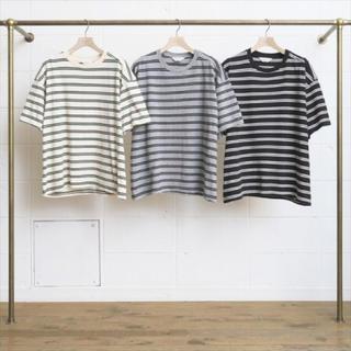 アンユーズド(UNUSED)のUnused アンユーズド ボーダーtシャツ tシャツ ビックt シャツ(Tシャツ/カットソー(半袖/袖なし))
