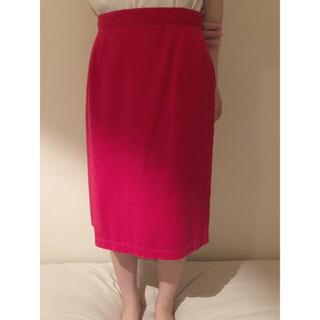 ノートエシロンス(note et silence)のebonyivoryのタイトスカート(ひざ丈スカート)