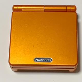 ゲームボーイアドバンス(ゲームボーイアドバンス)のレア 任天堂 アチャモオレンジ ゲームボーイアドバンスSP 充電器付(携帯用ゲーム機本体)