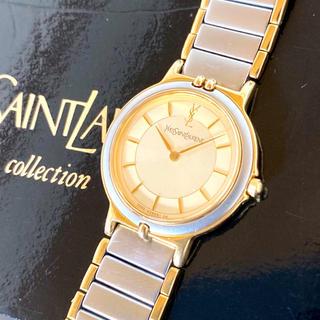 Saint Laurent - 稼働品 YSL イヴ・サンローラン 腕時計 レディース 美品 ミニフェイス