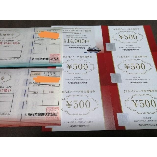 JR(ジェイアール)の【レオン様専用】JR九州 鉄道株主優待券×2&JR九州グループ株主優待券など チケットの優待券/割引券(その他)の商品写真
