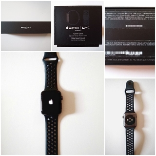 アップルウォッチ(Apple Watch)の「送料無料」Apple Watch Series 3 NIKE+GPS42mm(腕時計(デジタル))