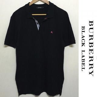 BURBERRY - バーバリー ブラックレーベル ポロシャツ BURBERRY 良好 ノバチェック