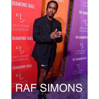 RAF SIMONS - RAF SIMONS ラフシモンズ ダブルブレステッドブレザー 44