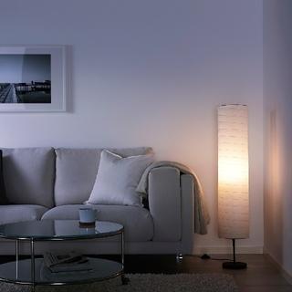 IKEA - ikea フロアランプ ホルモー 間接照明  未使用 led 電球 セット
