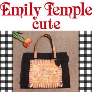 エミリーテンプルキュート(Emily Temple cute)の【エミキュ】♡ビスケットプリント トートバッグ+.*(トートバッグ)