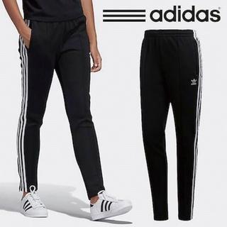 アディダス(adidas)のadidas originals SST TRACK PANTS ブラック(スキニーパンツ)