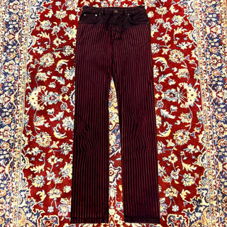 JOHN LAWRENCE SULLIVAN - Y/project USED stripe jeans