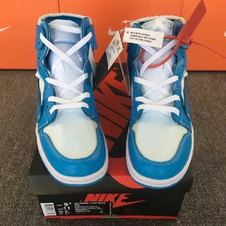 OFF-WHITE - 28CM AIR JORDAN 1 OFF-WHITE AQ0818-148