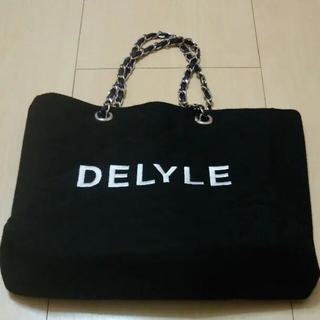 Delyle NOIR - Delyle チェーンバック   キルティングブラック  Delyle NOIR