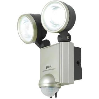 エルパ(ELPA)のELPA 屋外用センサーライト AC電源 4wLED 2灯 無線チャイムセット (その他)
