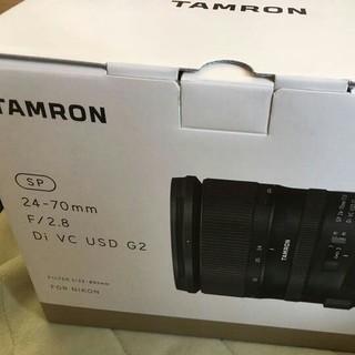 タムロン(TAMRON)のレンズ SP 24-70mm F2.8 Di VC USD G2  A032N(レンズ(ズーム))