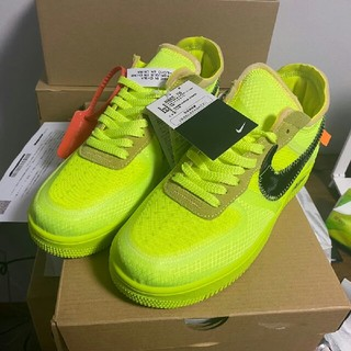 OFF-WHITE - 28cm NIKE AIR FORCE 1 LOW AO4606-700