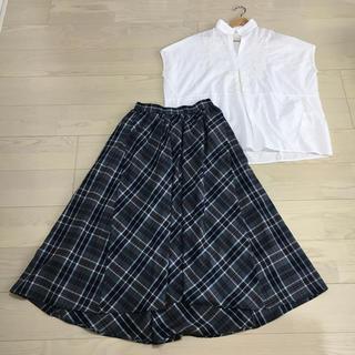 STUDIO CLIP - 【美品】2点セット スタディオクリップ ブラウス・スカート