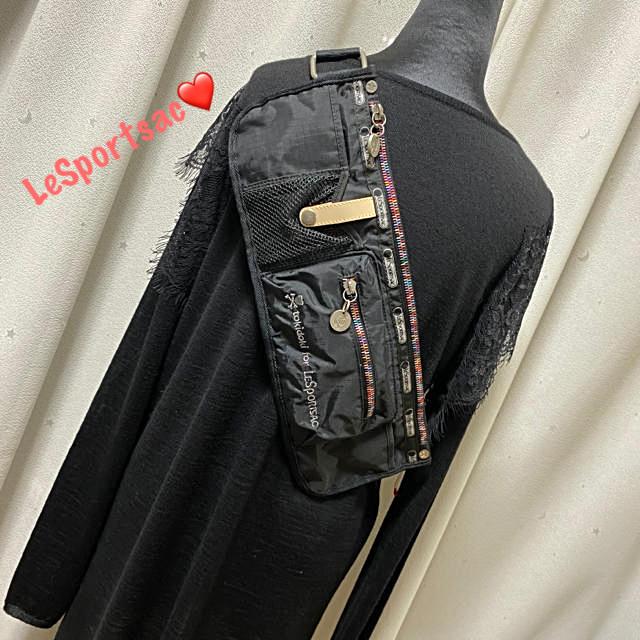 LeSportsac(レスポートサック)の✨レスポートサック×トキドキ✨レスポ✨コラボ✨ウエストポーチ ボディバッグ✨ レディースのバッグ(ボディバッグ/ウエストポーチ)の商品写真
