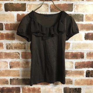 アナイ(ANAYI)の【ANAYI】リボンフリル半袖Tシャツ(Tシャツ(半袖/袖なし))