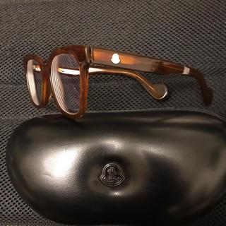 モンクレール(MONCLER)の【お値下げ相談可】MONCLER 眼鏡 ML0040 50□18 142 正規品(サングラス/メガネ)