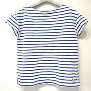 オーシバル(ORCIVAL)のハナ様専用 ORCIVAL 薄手 青ボーダー(Tシャツ(半袖/袖なし))