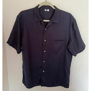 UNIQLO - UNIQLO U 開襟シャツ オープンカラーシャツ Mサイズ旧タグキャンプカラー