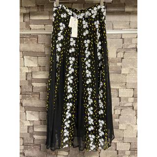 Noela - 新品未使用*Noelaノエラ フラワー刺繍チュールスカート black M