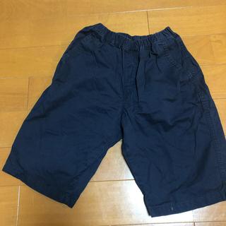 ユニクロ(UNIQLO)のユニクロ ハーフパンツ紺 160cm(パンツ/スパッツ)