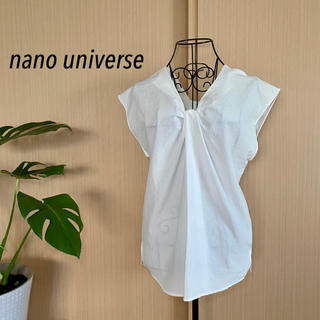 nano・universe - nano universe  シャツブラウス