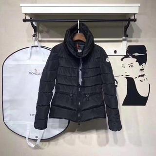 MONCLER - モンクレール 黒&白 ダウンジャケット