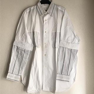 ミルクボーイ(MILKBOY)のMILKBOY ミルクボーイ ストライプ ホワイト バイカラー シャツ(シャツ)