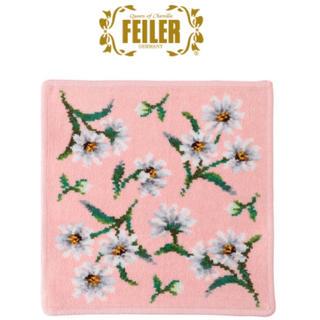 FEILER - 【新品未使用】FEILER フェイラー タオルハンカチ ホワイトマーガレット