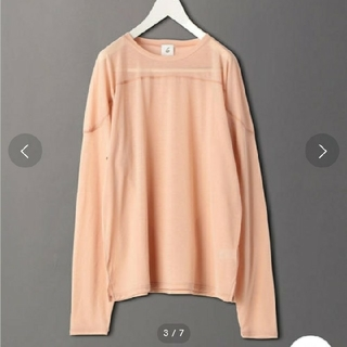 BEAUTY&YOUTH UNITED ARROWS - SHEER LOCK LONG SLEEVE PULLOVER