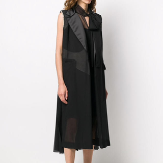 sacai - Sacai ノースリーブ ドレス