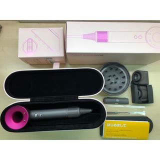 Dyson - ダイソン ヘアドライヤー HD01Super sonicフューシャ 美品 正規品