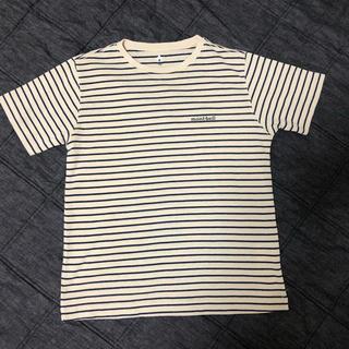 モンベル(mont bell)のモンベル ボーダー Tシャツ size150 USED美品(Tシャツ/カットソー)