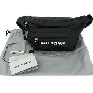 Balenciaga - 【新古品】バレンシアガ ウエストポーチ ヒップバッグ ウィールベルトバッグ 黒