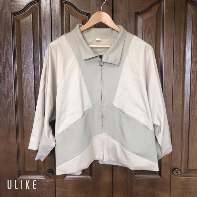 Dulcamara(ドゥルカマラ)のniitu ジップブルゾン メンズのジャケット/アウター(ブルゾン)の商品写真