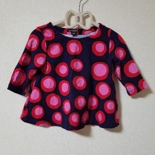マリメッコ(marimekko)のおぐ様 marimekko 90cm(Tシャツ/カットソー)