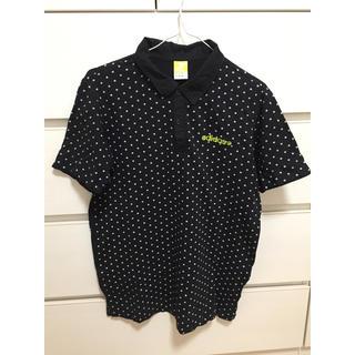 アディダス(adidas)のアディダス ネオ 半袖 ポロシャツ M ドット ブラック Tシャツ メンズ (ポロシャツ)