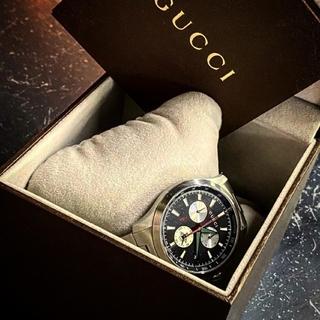 グッチ(Gucci)のGUCCI タイムレス クロノグラフ デイト 126.2 YA126267(腕時計(アナログ))